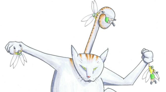 Childrens book Cat winning FE